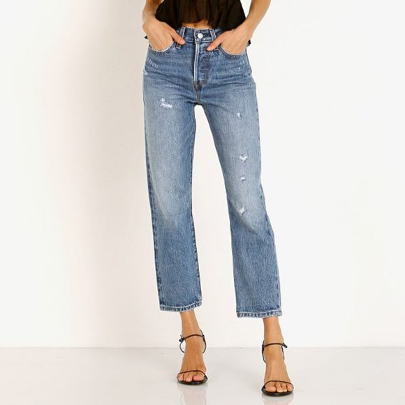 NWT Levi's Wedgie Straight Jean 24